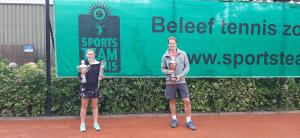CK 2020 winnaars Marisha van de Arend en Niels Rohrig